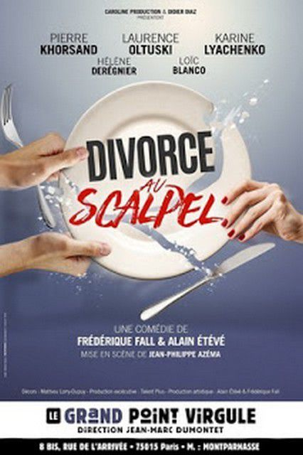 DIVORCE AU SCALPEL au Grand Point-Virgule