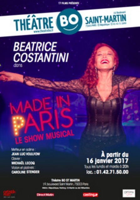 MADE IN PARIS au Théâtre BO Saint-Martin