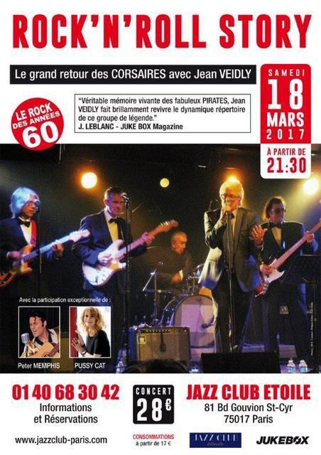 ROCK'N' ROLL STORY avec Jean VEIDLY