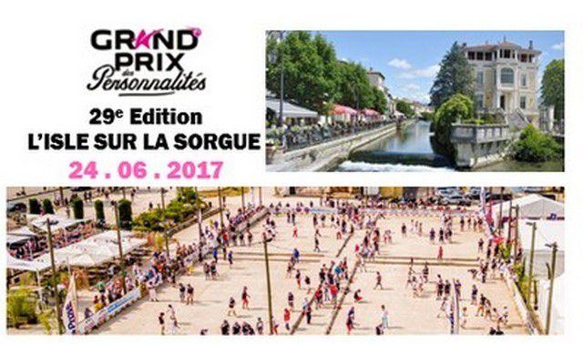 GRAND PRIX DES PERSONNALITES 29ème Edition