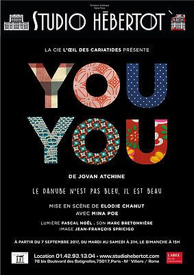YOU YOU de Jovan ATCHINE  avec Mina POE