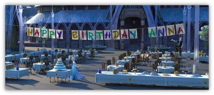 LES PREPARATIFS – Elsa organise en secret la fête d'anniversaire d'Anna. ©Disney