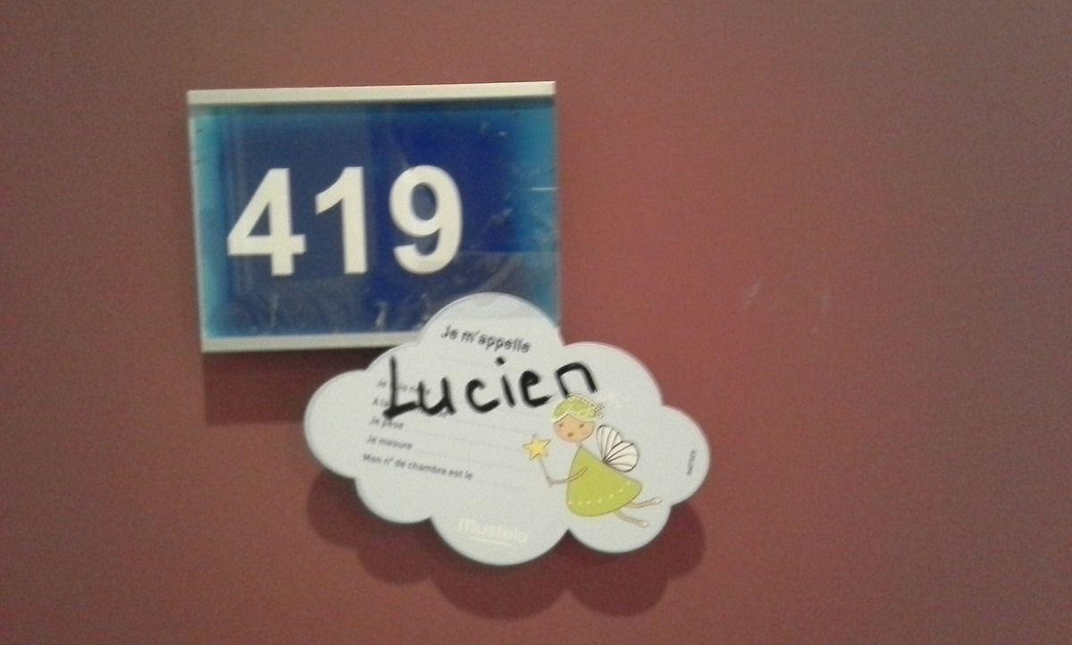 [Famille Online] Notre petit Lucien est né à 21h04 !