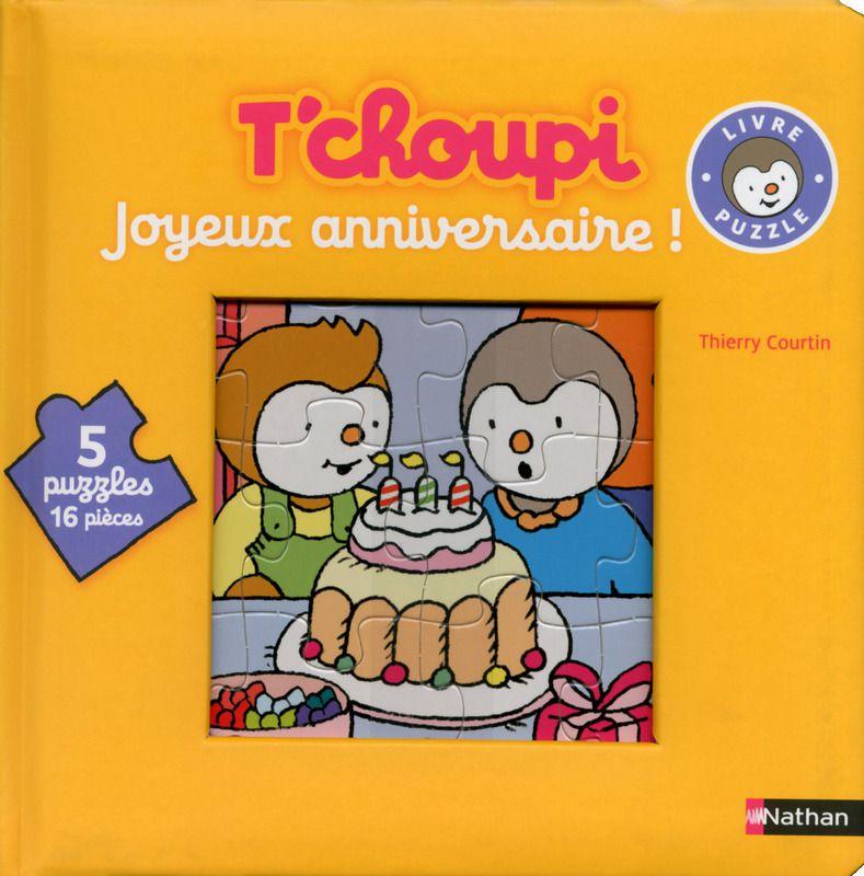 """[Papathèque] Livre : """"Joyeux anniversaire - Livre-puzzle"""" (éditions Nathan)"""