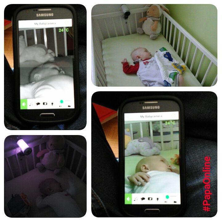 [Test] Papa Online ! a testé pour vous... la Babycaméra &quot&#x3B;0 onde&quot&#x3B; de Babymoov