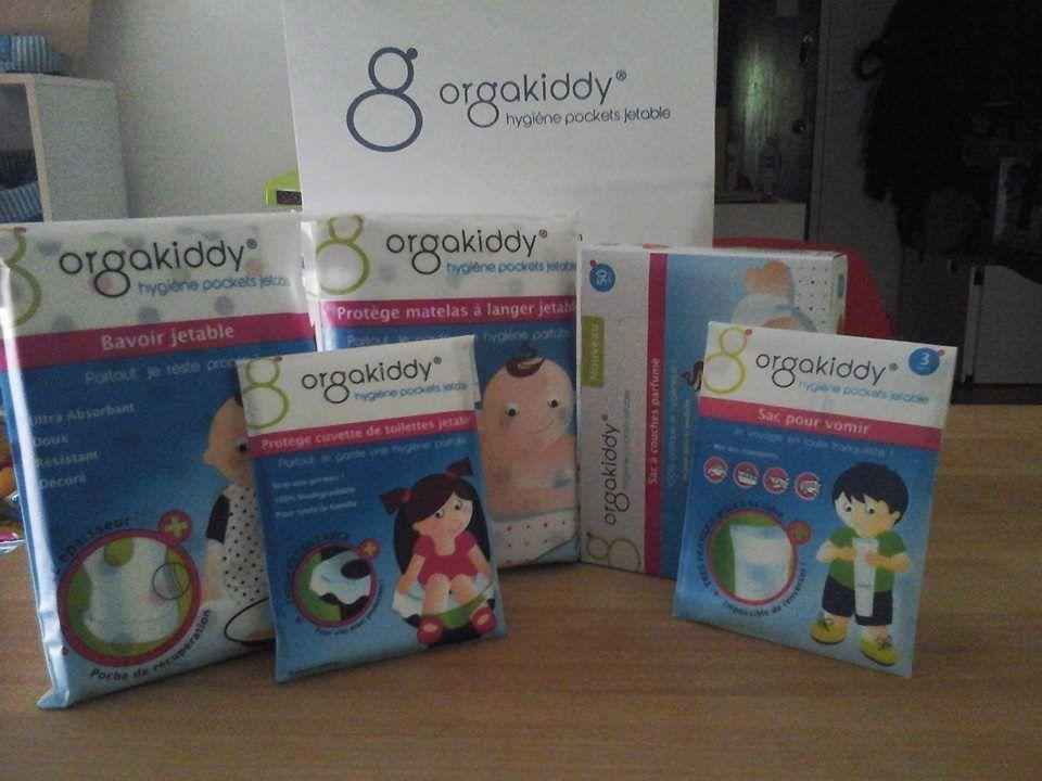 [Test] Papa Online ! a testé pour vous... la gamme de produits Orgakiddy
