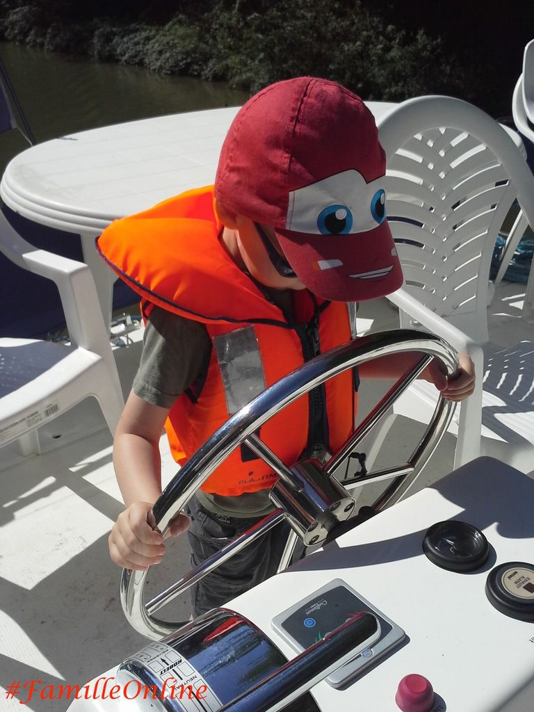 [Reportage] Vacances Online #4 : à bord de notre bateau avec nos p'tits matelots !