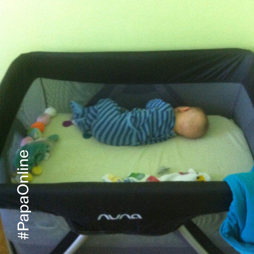[Test] Papa Online ! a testé pour vous... le lit-parapluie Sena de Nuna
