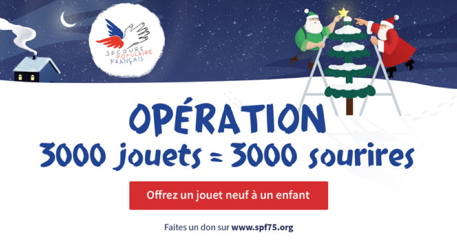 [Dossier] Noël solidaire : associations et enseignes ont du cœur pour les petits !