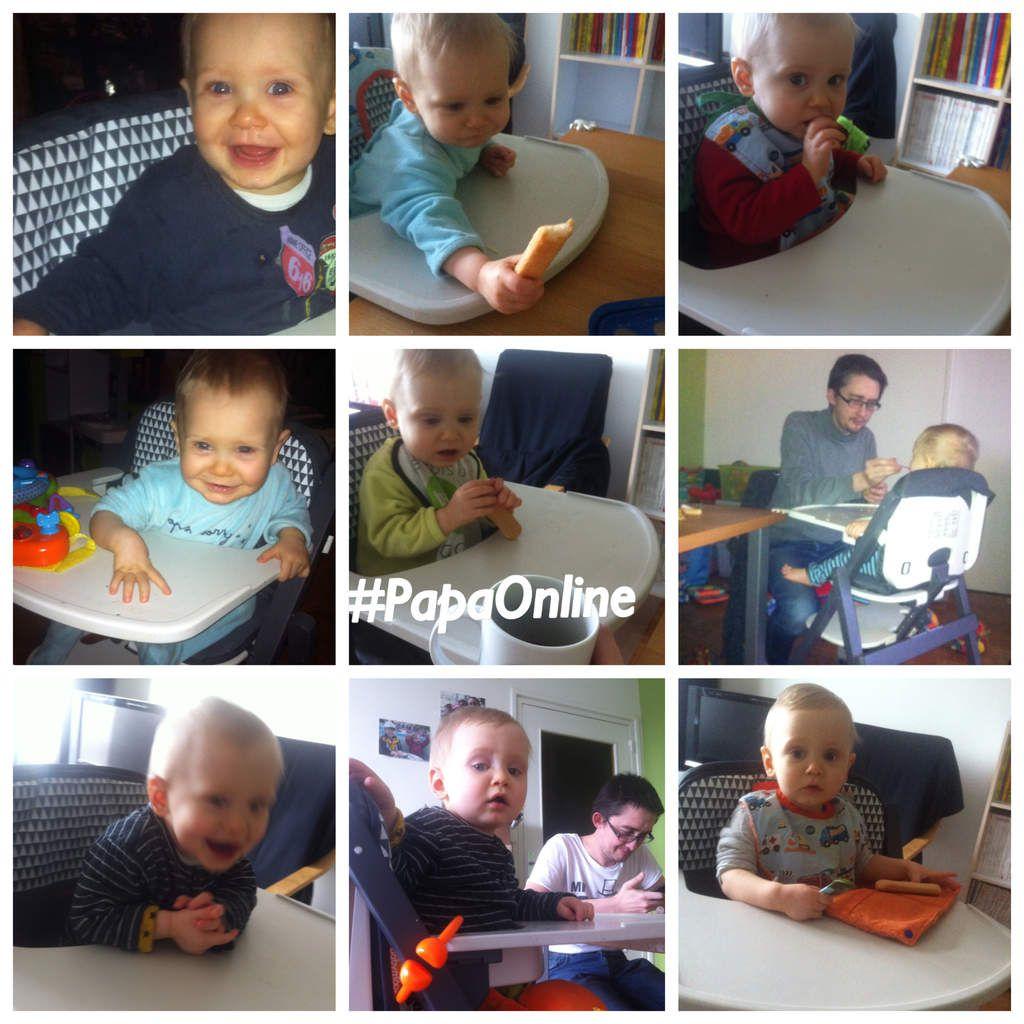 [Test] Papa Online ! a testé pour vous... la chaise haute Light Wood de Babymoov