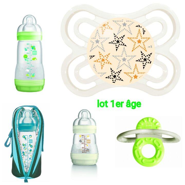 lot n°1 - Bébé 1er âge