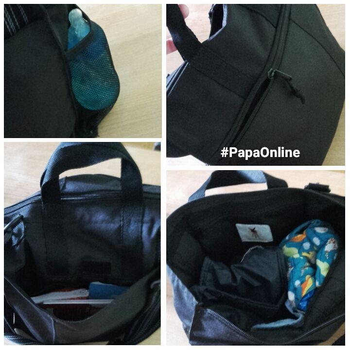 [Test] Papa Online ! a testé pour vous... le sac à langer Buggy Bag de Lässig