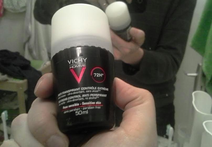 [Test] Papa Online ! a testé pour vous... le déodorant anti-transpirant 72h de Vichy (via Powersanté)