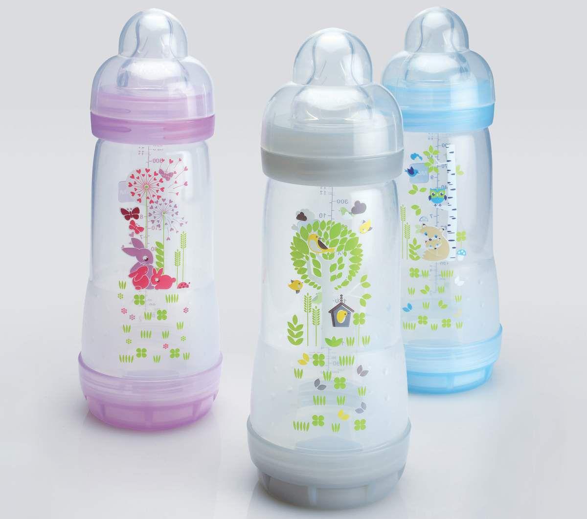 [Test] Maman Online ! a testé pour vous... les biberons Easy Start anticolique 320 ml de MAM