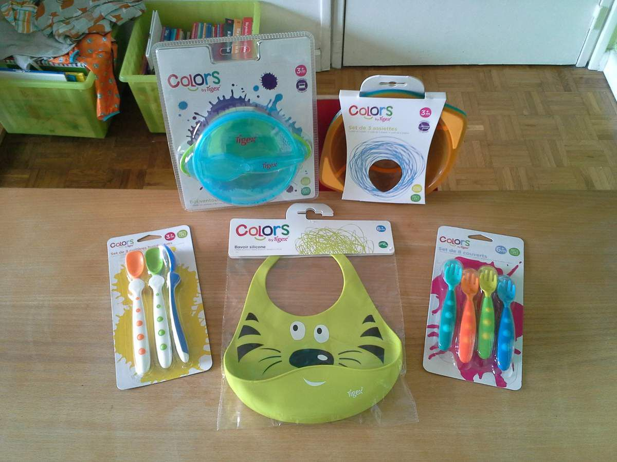 [Test] Papa Online ! a testé pour vous... la vaisselle Colors de Tigex