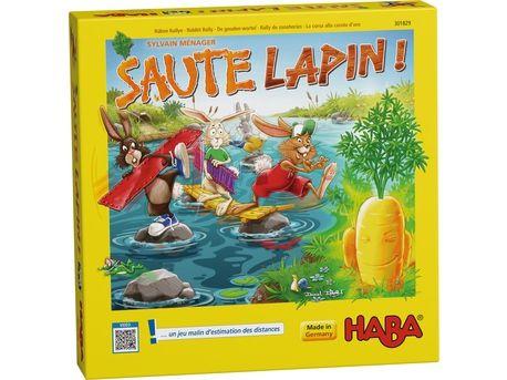 [Test] Papa Online ! a testé pour vous... le jeu &quot&#x3B;Saute Lapin !&quot&#x3B; de Haba