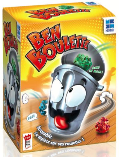 RÉPLIQUE DE STADE 3D - Vise bien pour mettre tes boulettes dans Ben, sinon il te faut les ramasser rapidement pour recommencer ! Âge : 4 ans et plus. Prix public conseillé : 25€.
