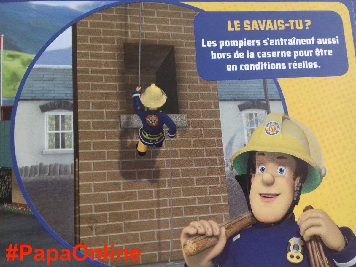[Papathèque] Lecture : &quot&#x3B;Sam le Pompier - L'imagier des pompiers&quot&#x3B; (éditions Hachette Jeunesse)