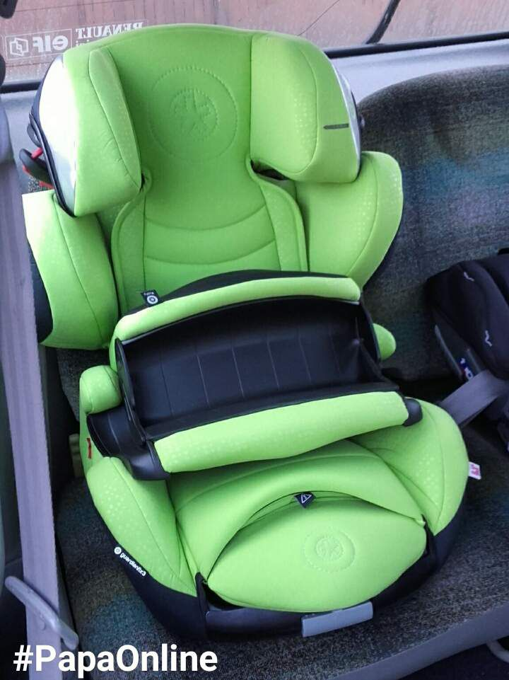 [Test] Papa Online ! a testé pour vous... le siège auto Guardianfix 3 de Kiddy
