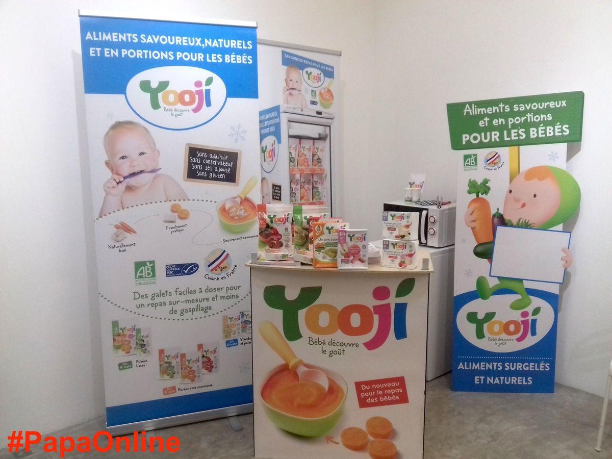 Yooji c'est bon, c'est bio et c'est élaboré en France, du côté d'Agen. Découvrez les savoureuses recettes surgelées qui révolutionnent le repas des bébés sur Yooji.fr !