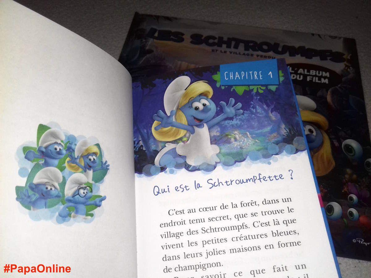 [Papathèque] Lecture : &quot&#x3B;Les Schtroumpfs et le village perdu&quot&#x3B; (éditions Hachette Jeunesse)