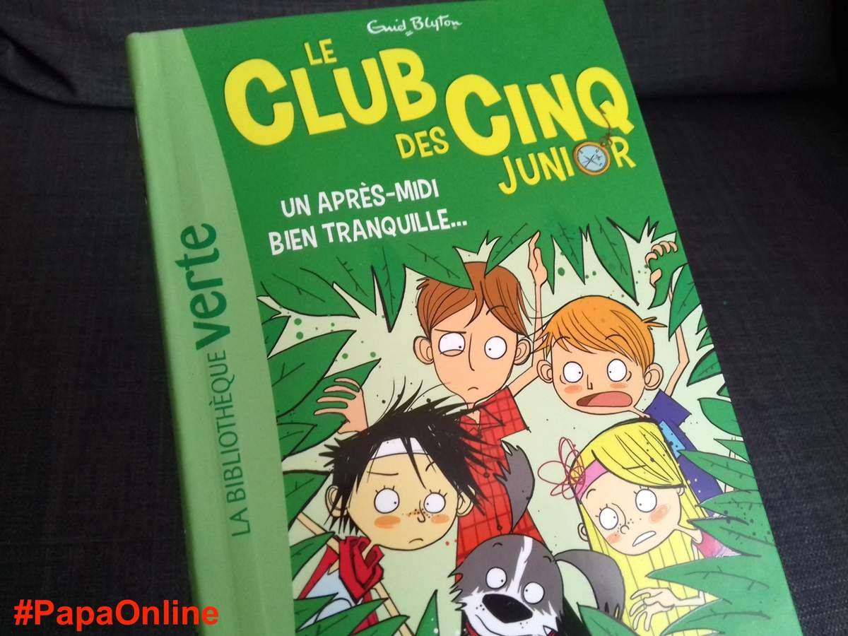 Papatheque Lecture Le Club Des Cinq Junior Un Apres