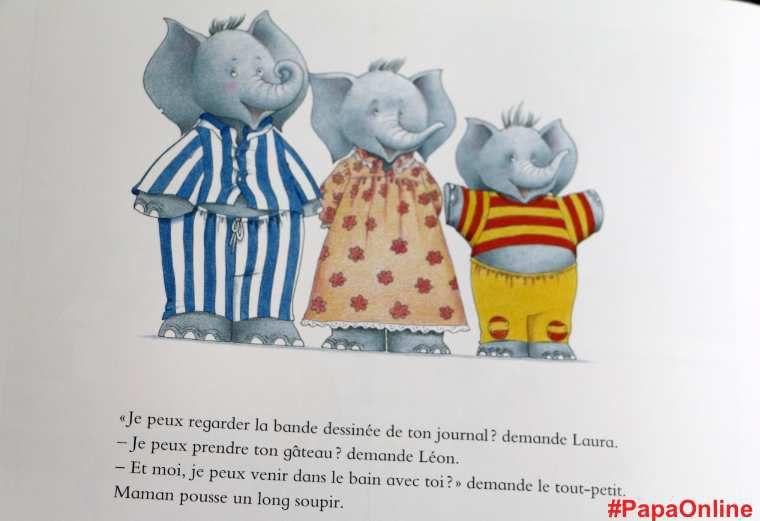 [Papathèque] Lecture : &quot&#x3B;Laissez Maman Tranquille !&quot&#x3B; (éditions Gautier-Languereau)