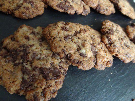 cookies coco et pépites de choco