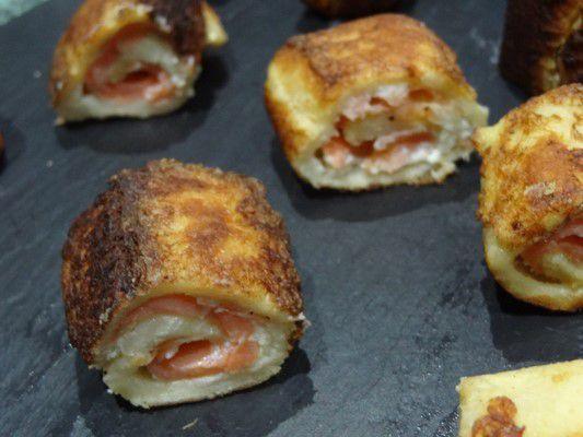 pain perdu au saumon et saint moret