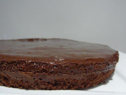 Gâteau au chocolat bicouche de Mercotte