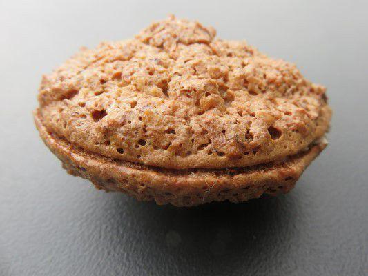 Biscuits macaronés aux noisettes