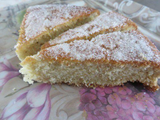 Gâteau moelleux à la fleur d'oranger de Doria