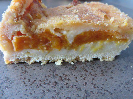 Tarte clafoutis à l'abricot de Mercotte