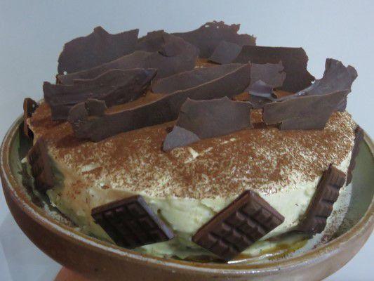 Double cheesecake vanille chocolat blanc