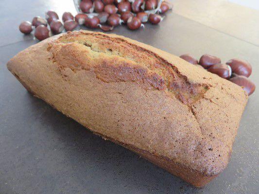 Le cake à la crème de marron de Bernard