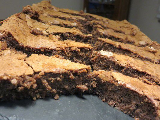Gâteau amandine au chocolat
