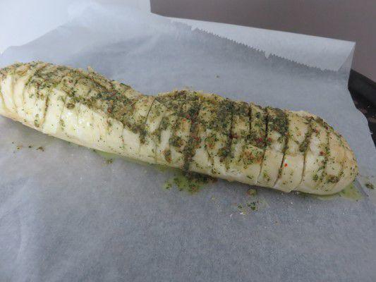 pain au beurre d'escargots pour l'apéro