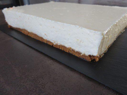 cheesecake frais et léger au citron