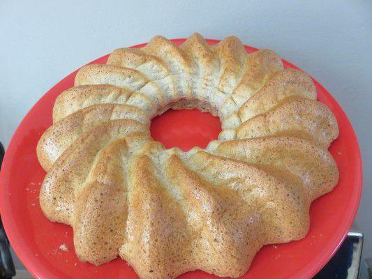 Gâteau régime à la grenadine