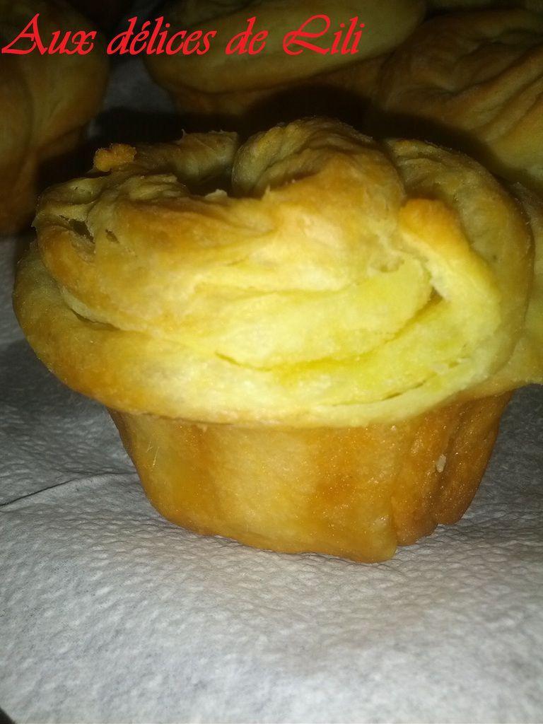 Cruffins ou Crushing (Croissants Muffins)