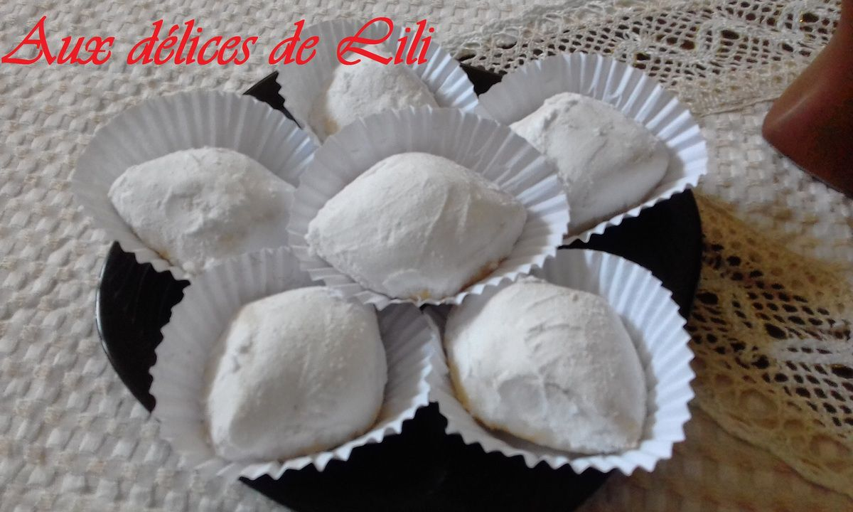 BOUSSOU LA TMESSOU (Gâteau sec algérien)