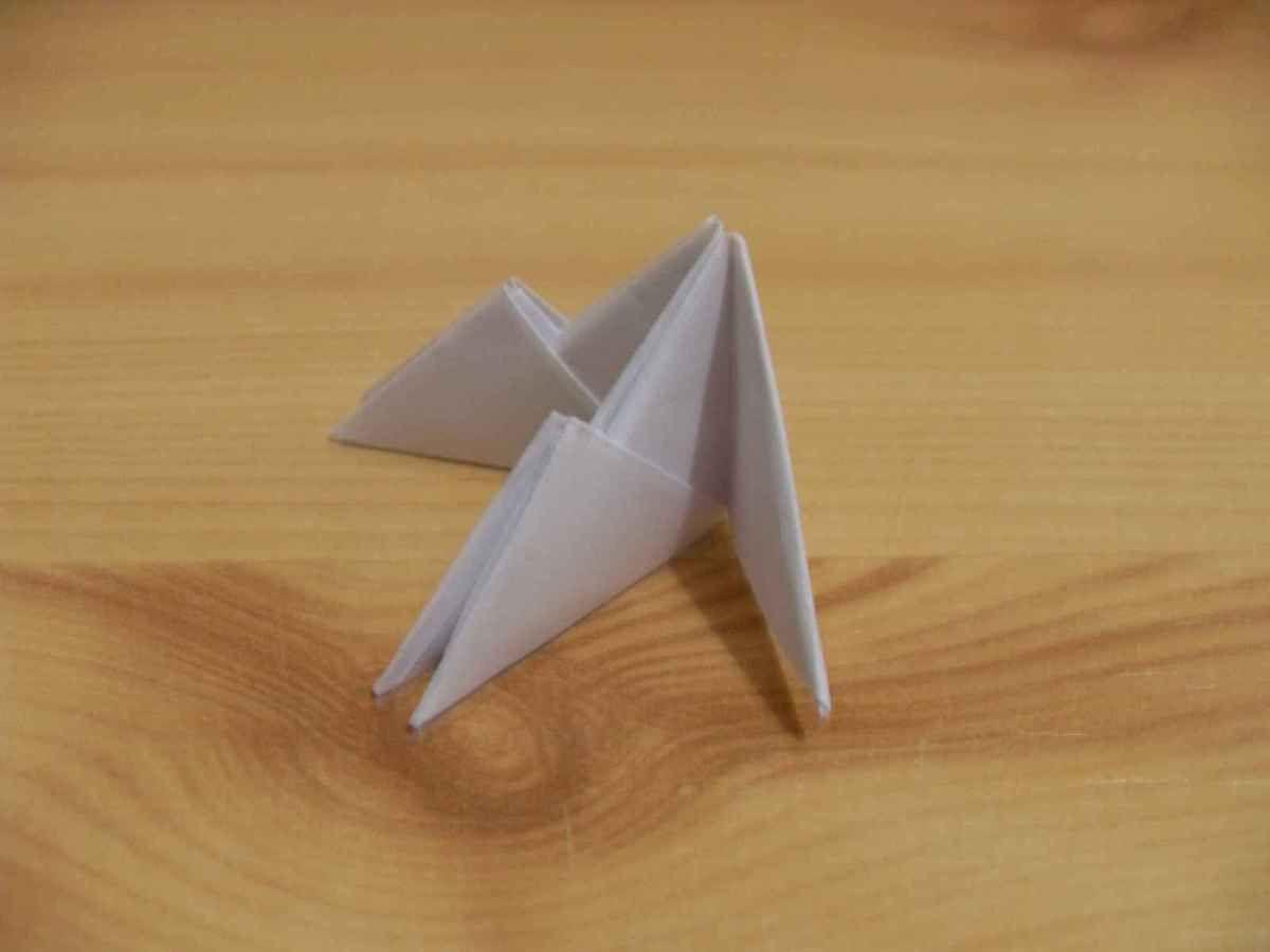 Origami - Le cygne modulaire