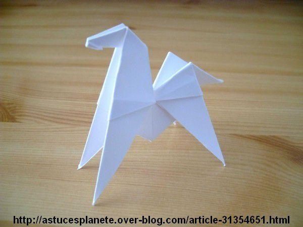 Origami - Diagrammes Première Partie (Seconde section)