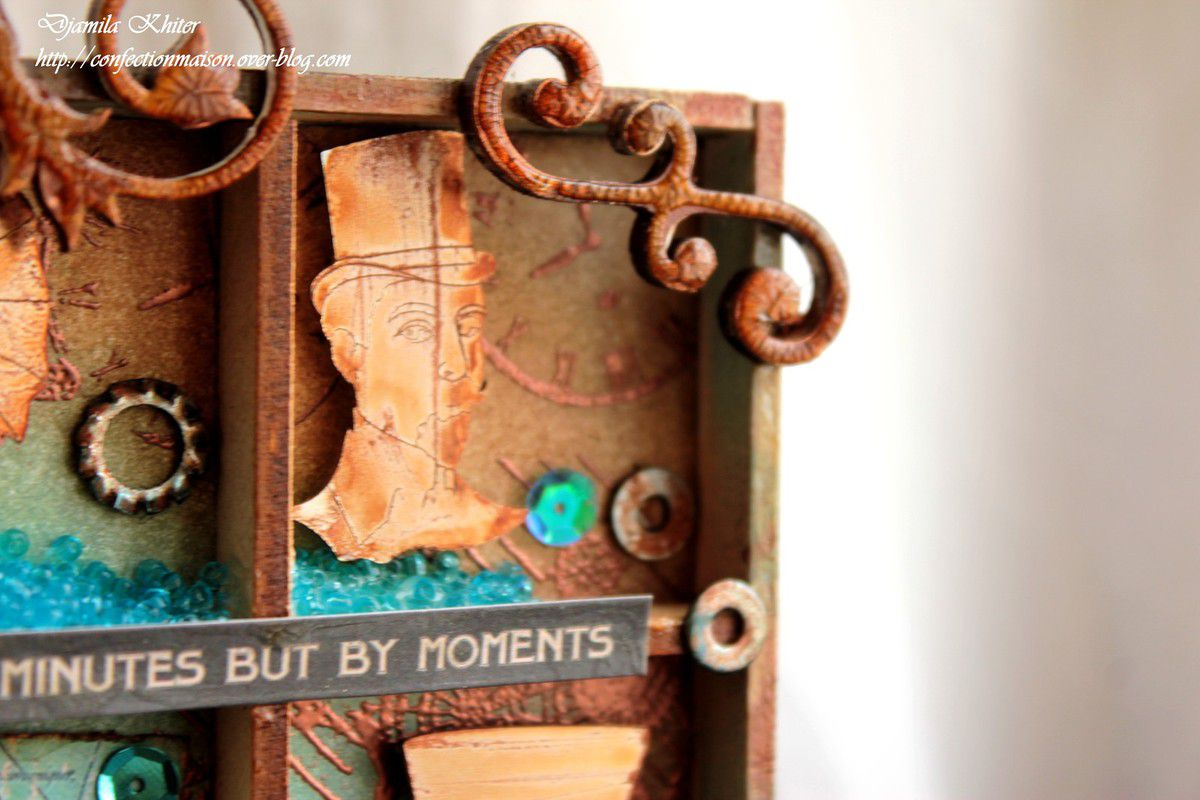Shadow box steampunk avec Boanita!