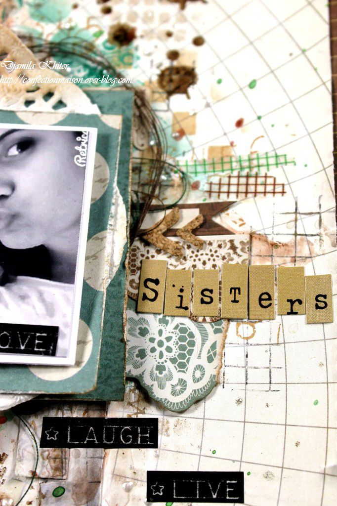 Page &quot&#x3B;Sisters&quot&#x3B;+ vidéo: invitée du forum Happy Friends Scrap