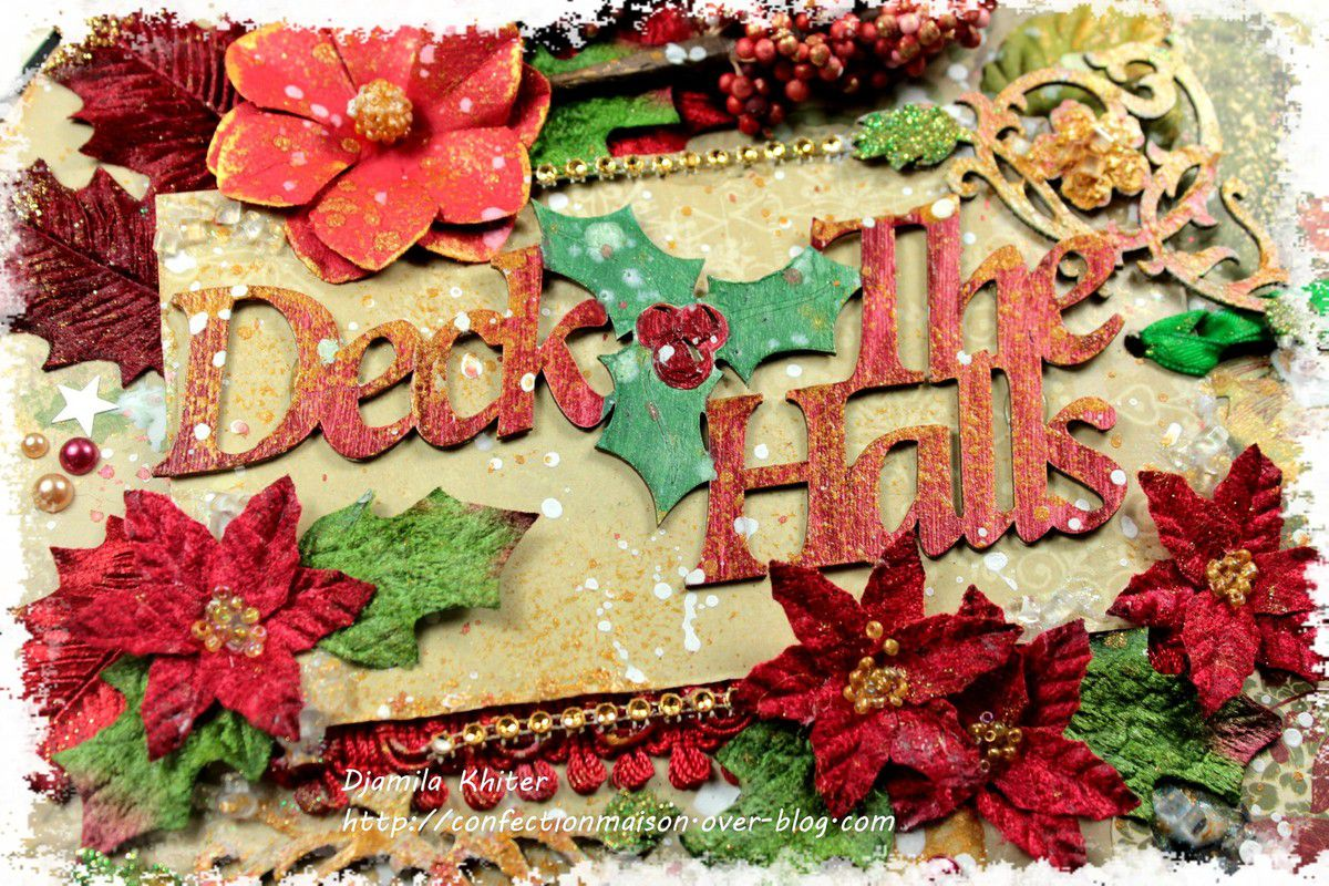 Mini &quot&#x3B;Deck the halls&quot&#x3B;+video DT C'est Magnifique