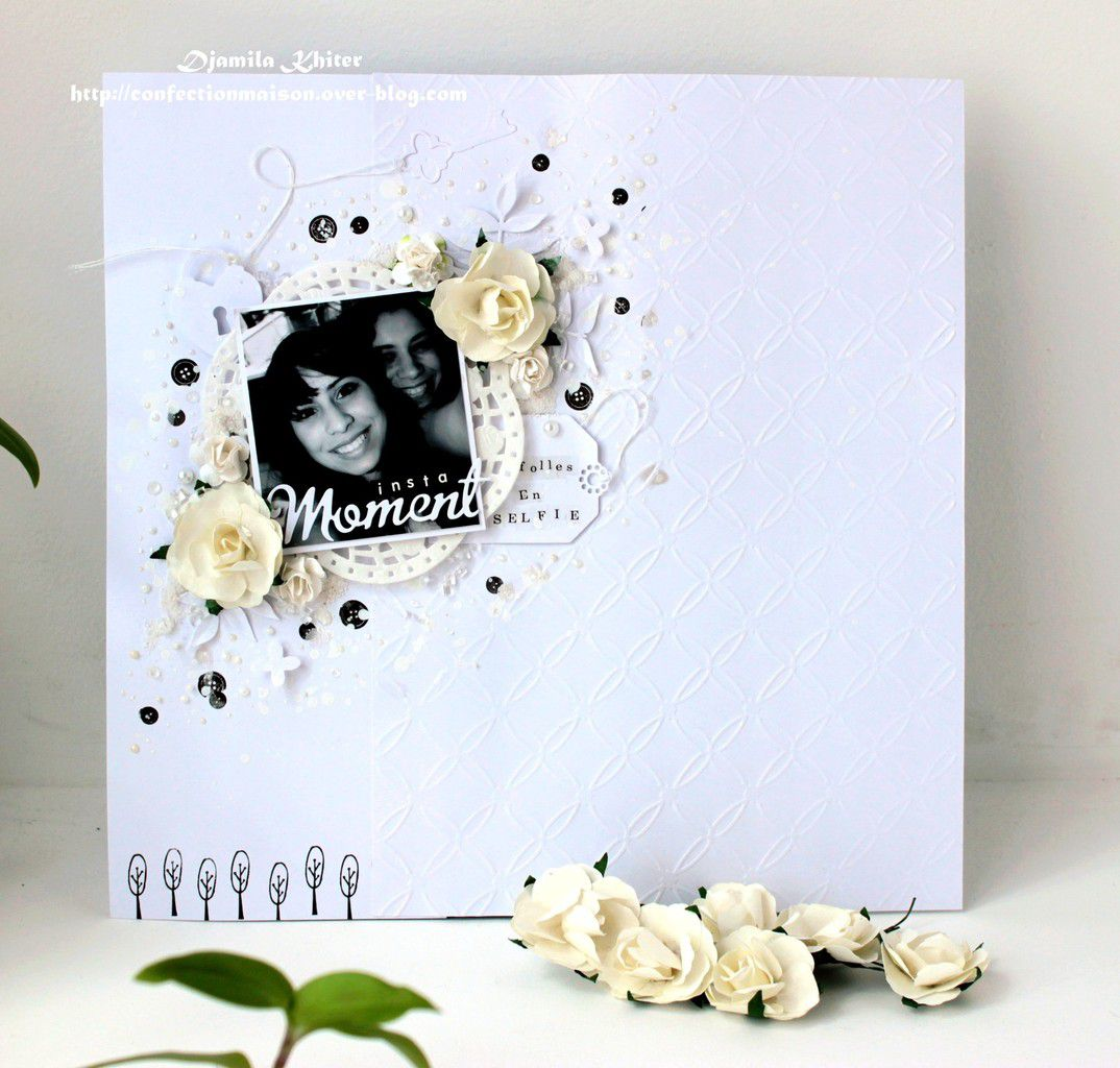 Page blanche:DT Passion Scrapbooking