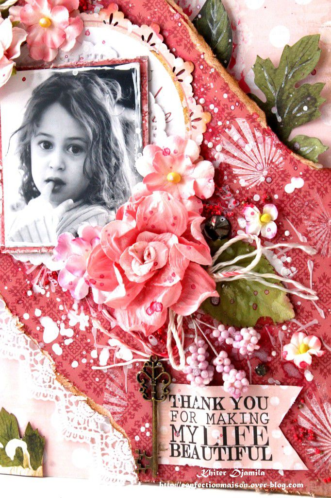 Page &quot&#x3B;Thank you for making my life beautiful&quot&#x3B; +Video