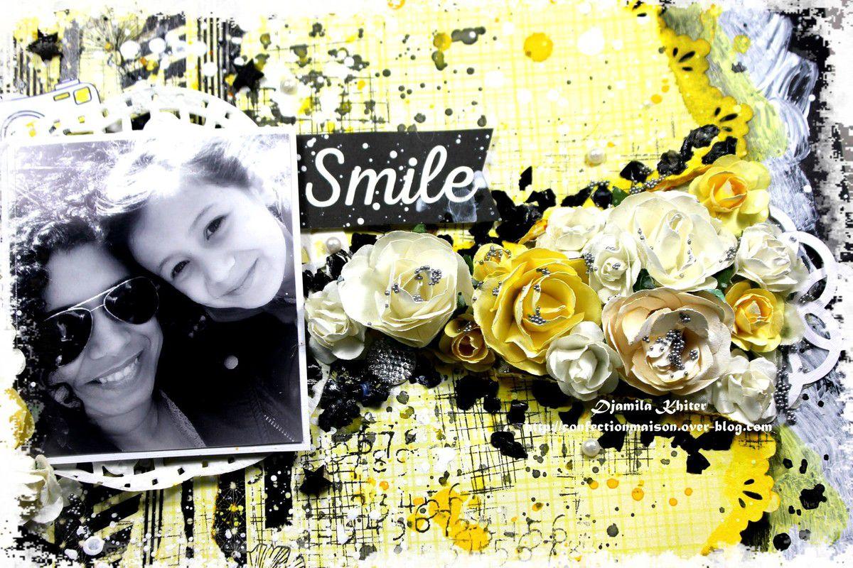 Page &quot&#x3B;Smile&quot&#x3B;+ vidéo