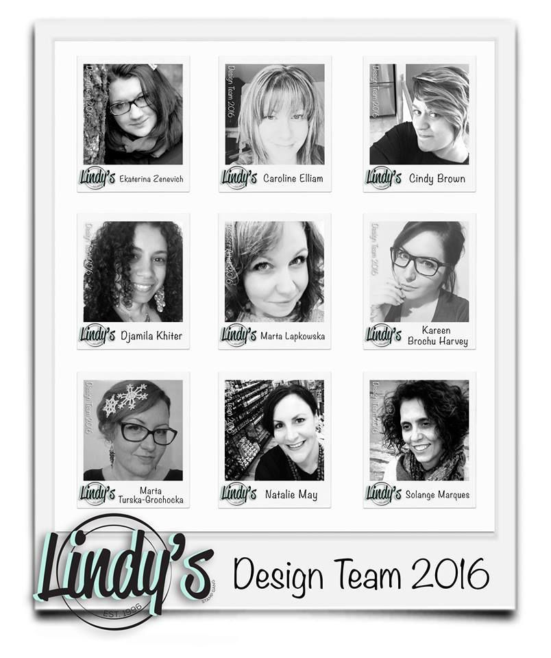 Lindy's Design Team Welcome Hop and Giveaway!